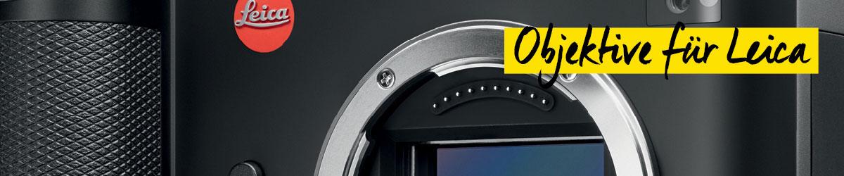 Objektive für Leica