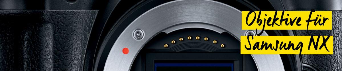 Objektive für Samsung NX