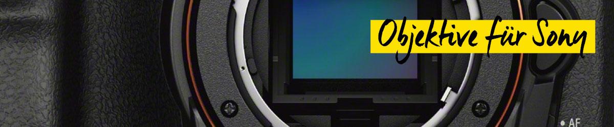 Objektive für Sony