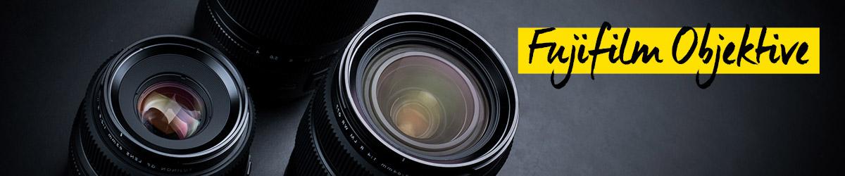 Objektive von Fujifilm