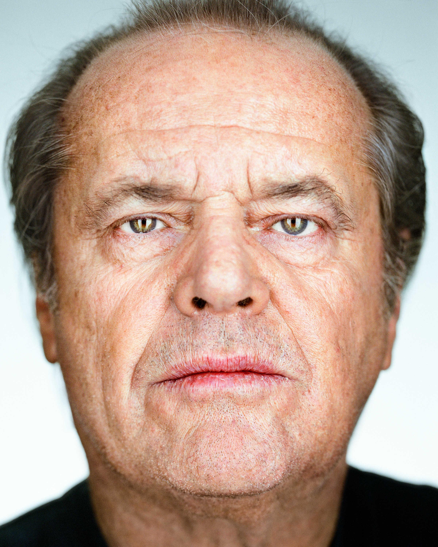 Martin Schoeller: Close Up: Jack Nicholson, 2002 © Martin Schoeller