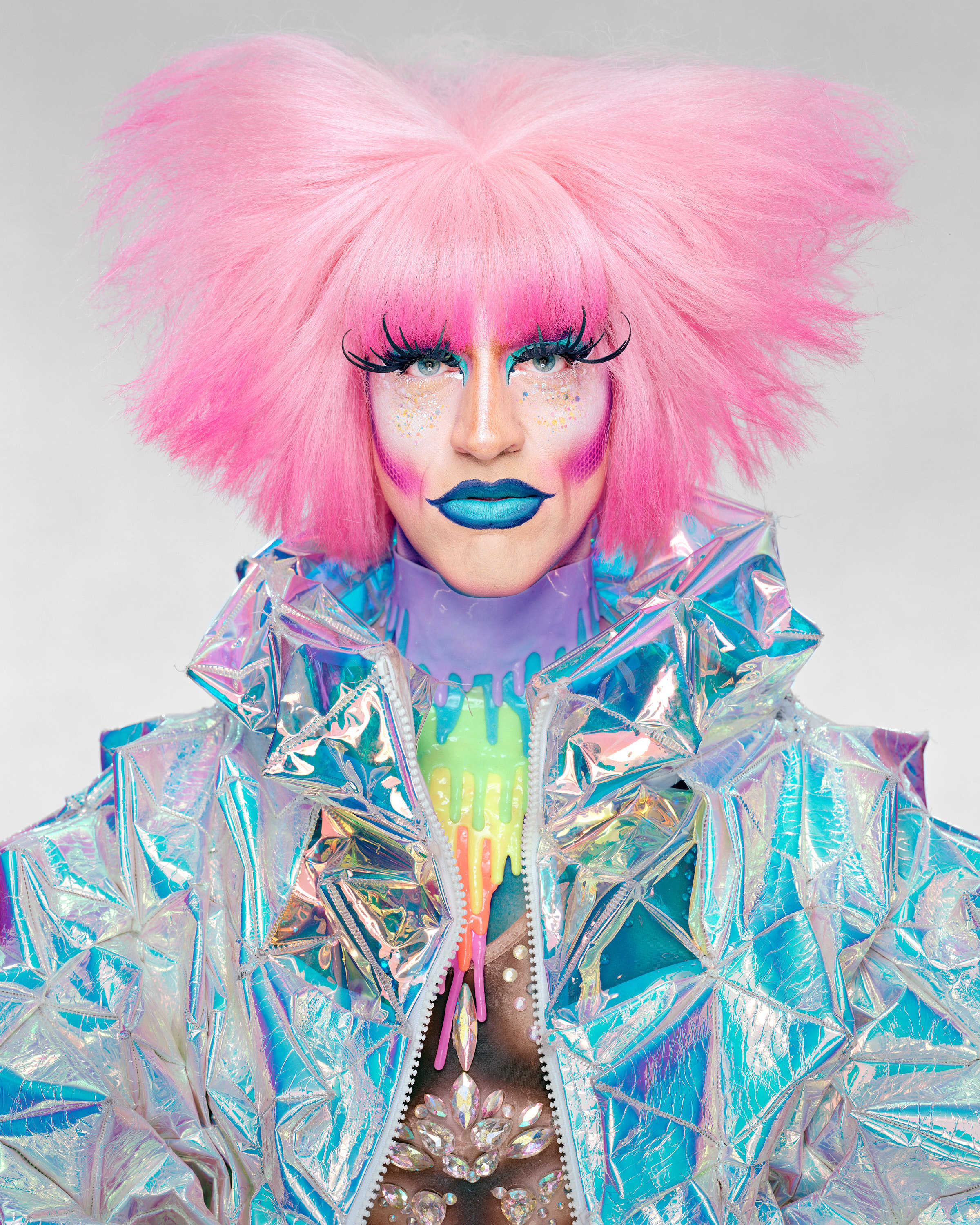 Martin Schoeller: Drag Queens: Acid Betty, 2019 © Martin Schoeller
