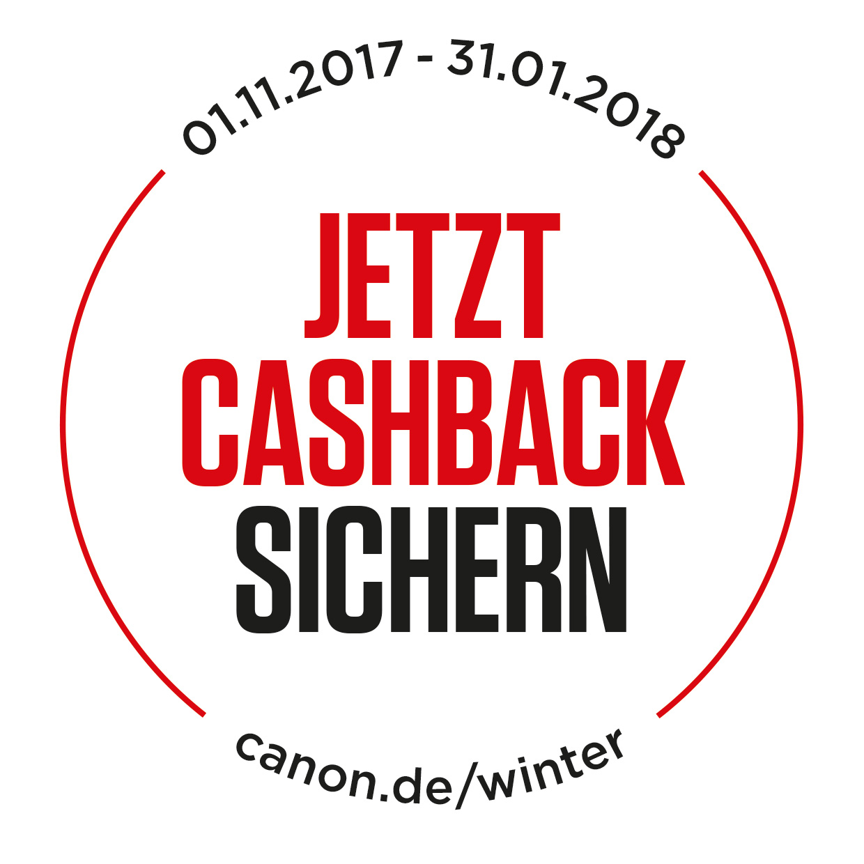 Canon Winter Cashback Aktion