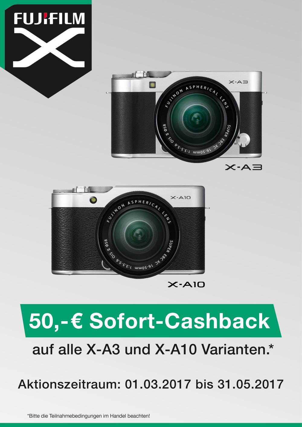 Fujifilm Sofortcashback