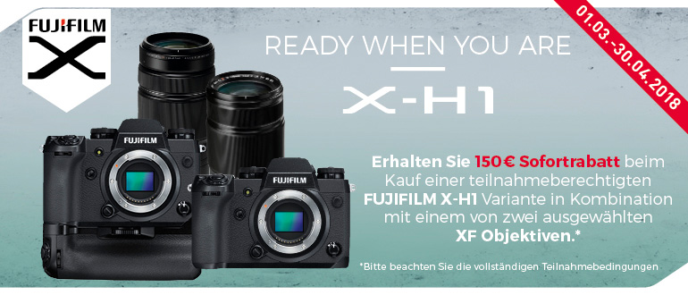 Fujifilm X-H1 Cashback