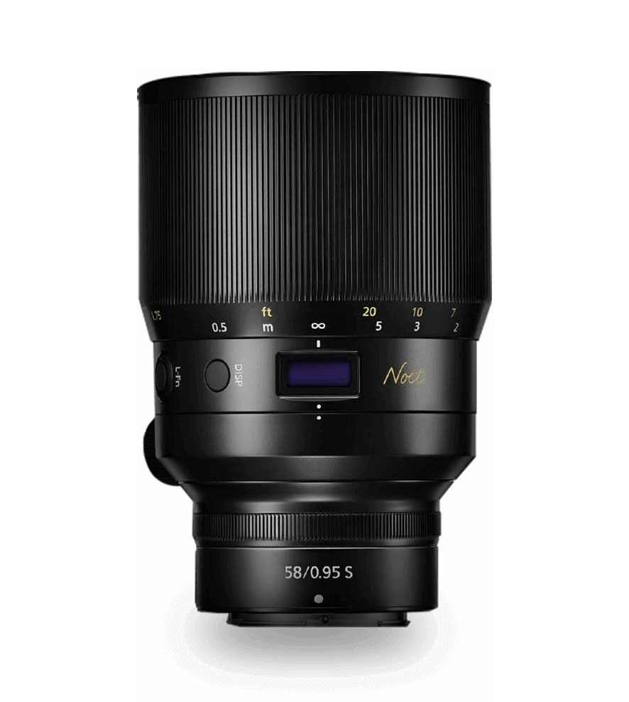 Nikon Z 58mm Objektiv