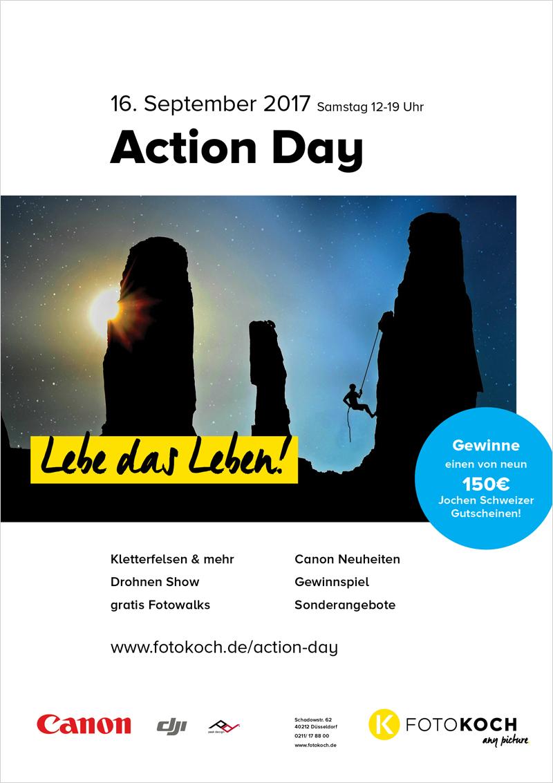 Action Day bei Foto Koch in Düsseldorf