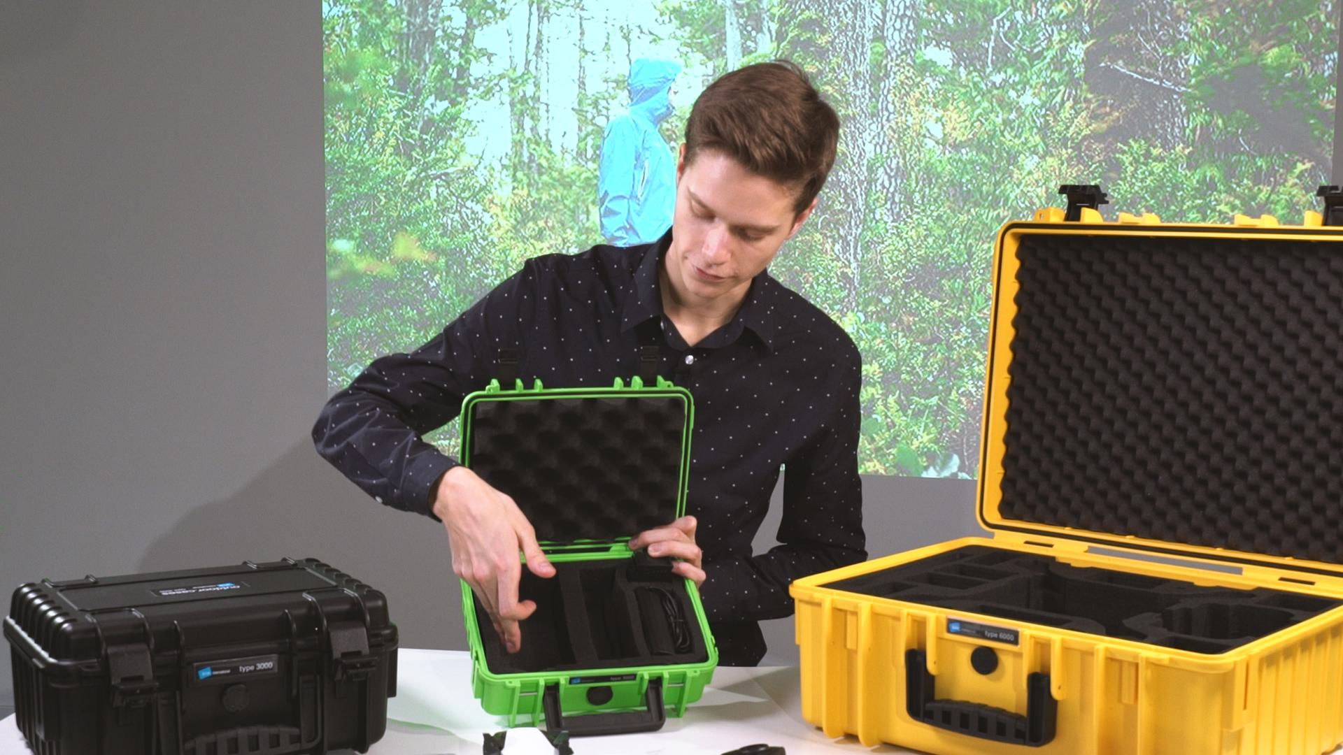 Outdoor Koffer - optimaler Schutz fu00fcr professionelles Kameraequipment