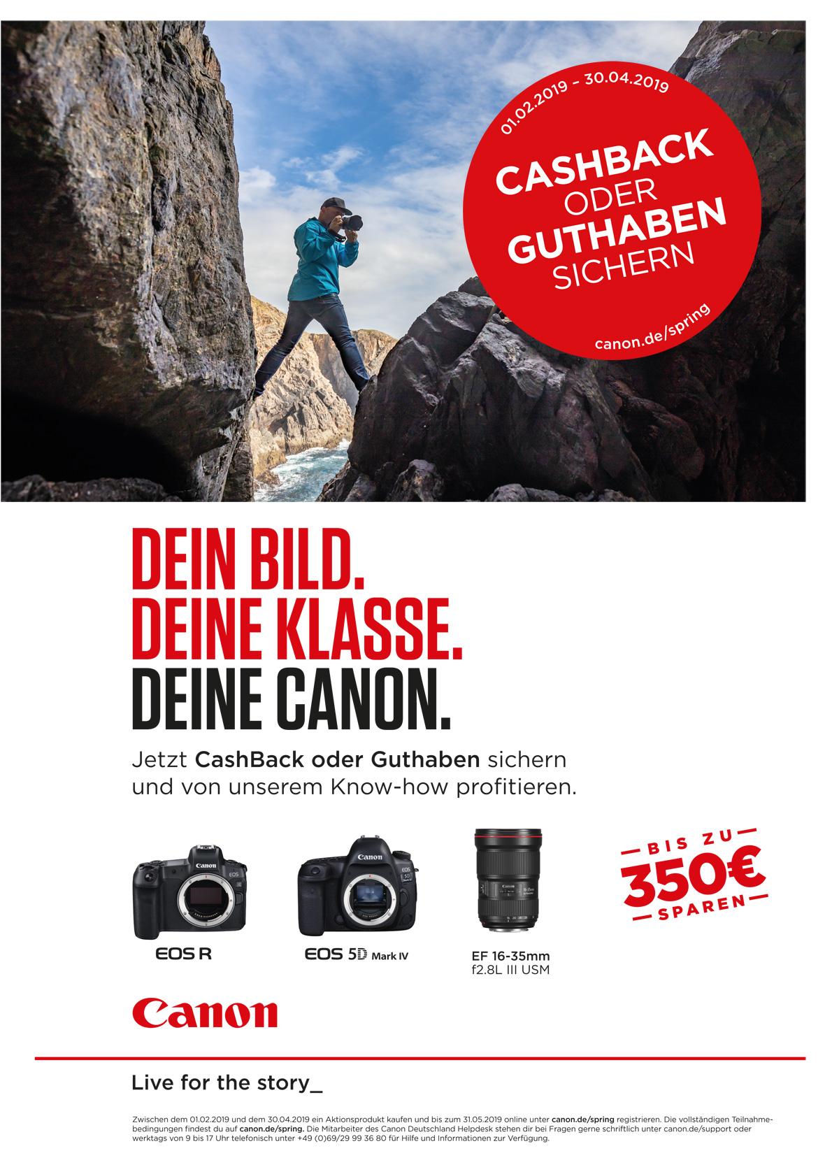 Canon Frühjahrspromotion