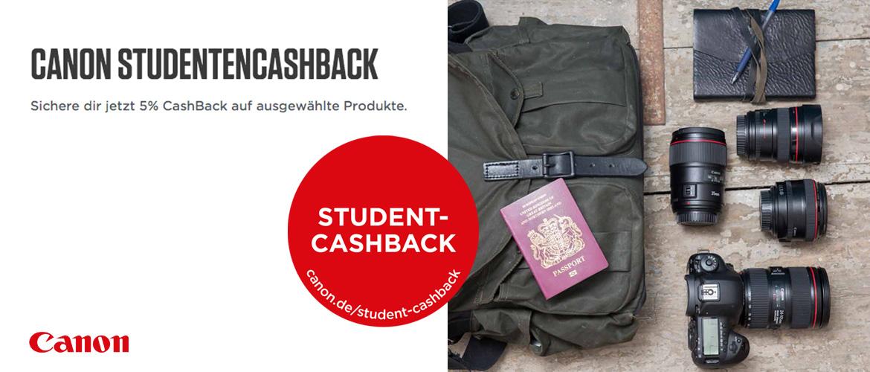 Canon Studentencashback