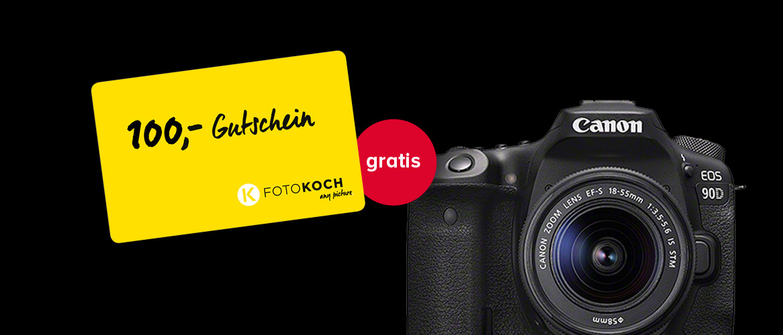 Canon EOS 90D Gutschein Aktion