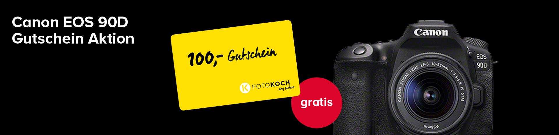 Canon 90D Gutschein Aktion