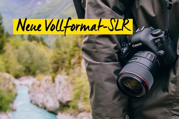 Vollformat-Neuheit Canon EOS 6D Mark II