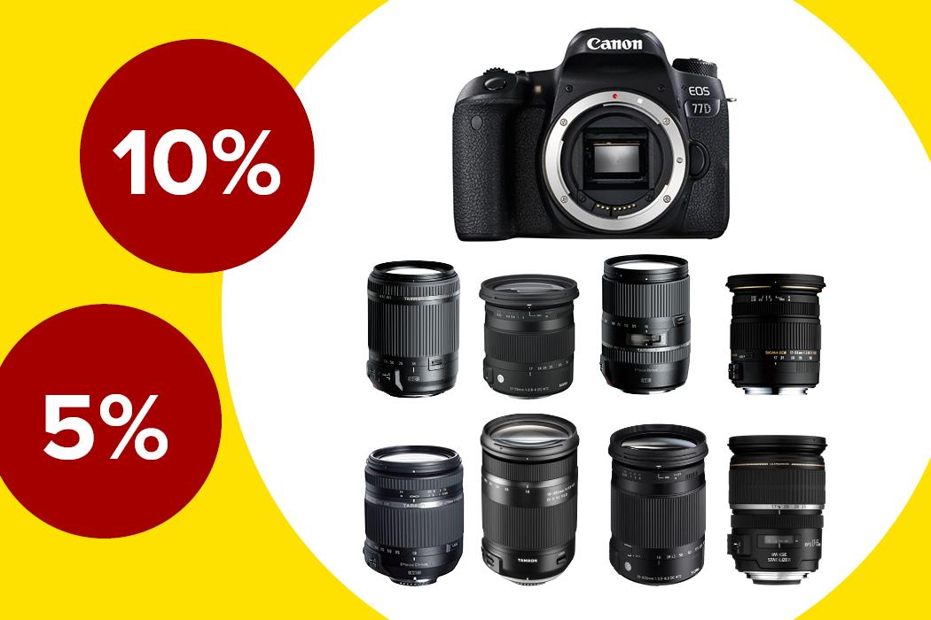 Canon EOS 77D Deals