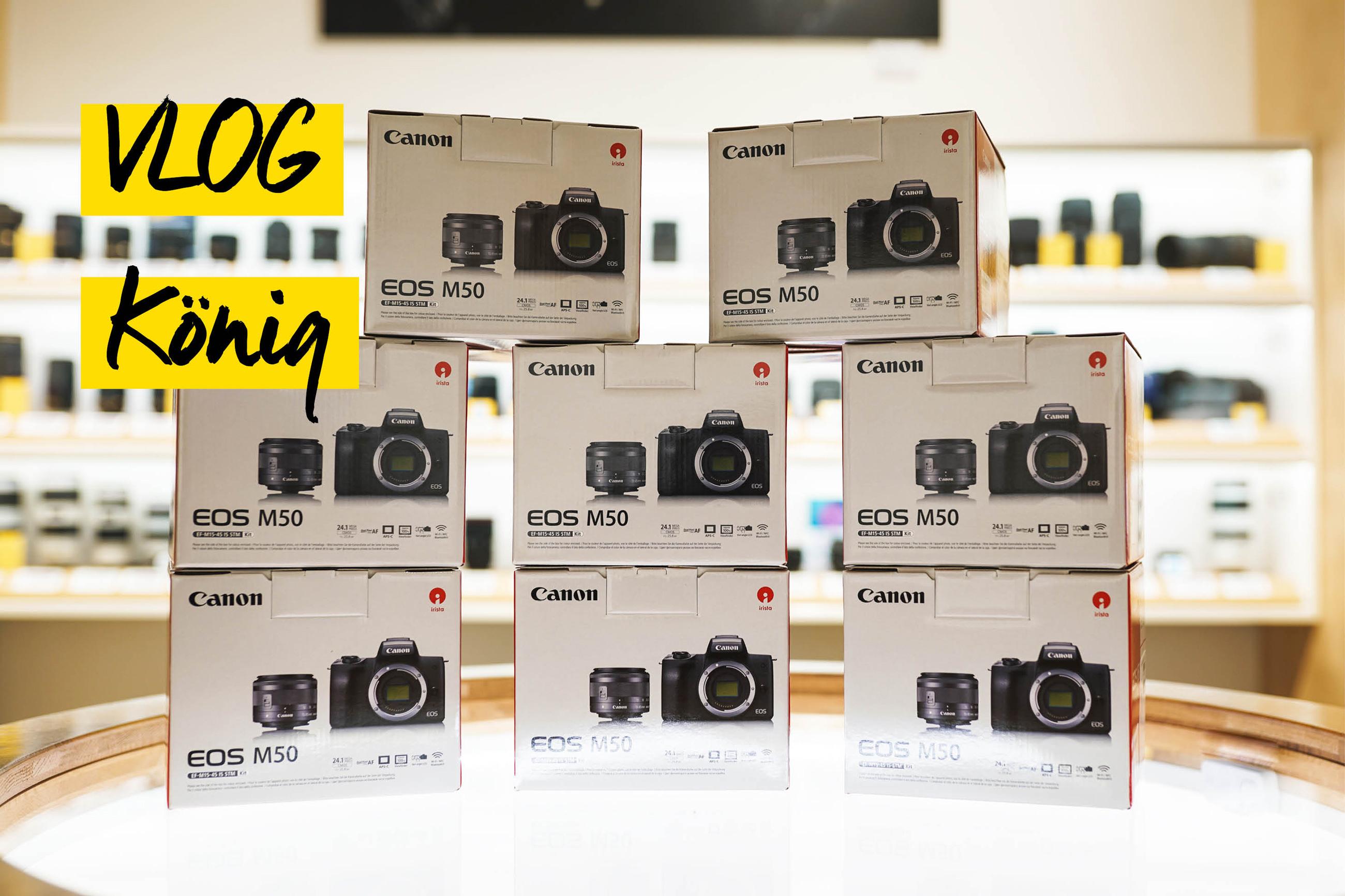 Canon Systemkamera M50