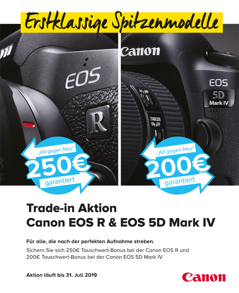 Canon Vollformat Trade-in Aktion