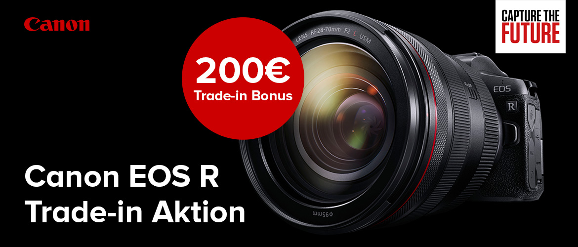 Canon EOS R Trade-in Aktion