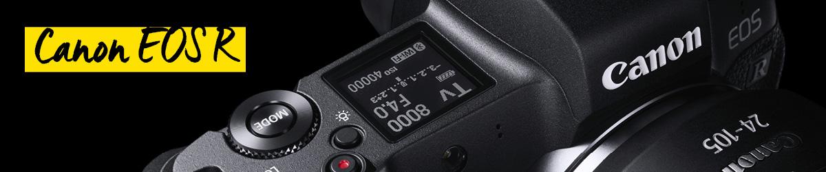 Canon EOS R Vollformat-Systemkameras