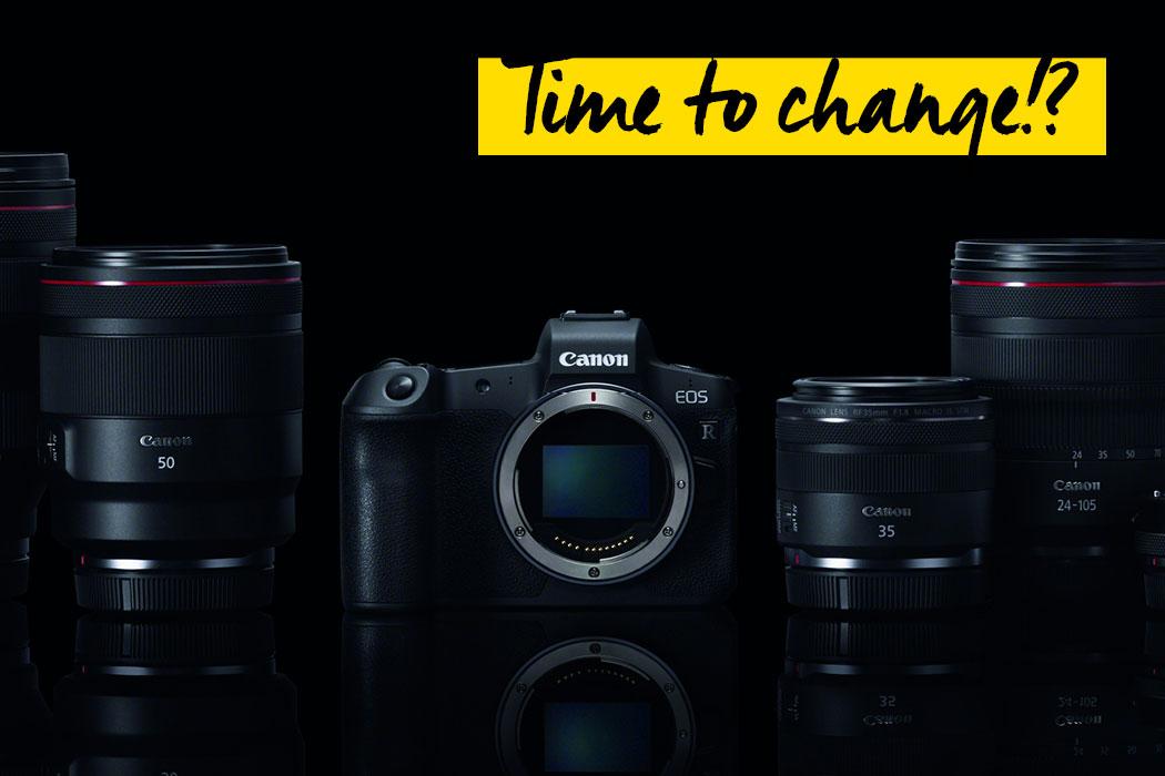 Canon EOS R Vollformat Tag