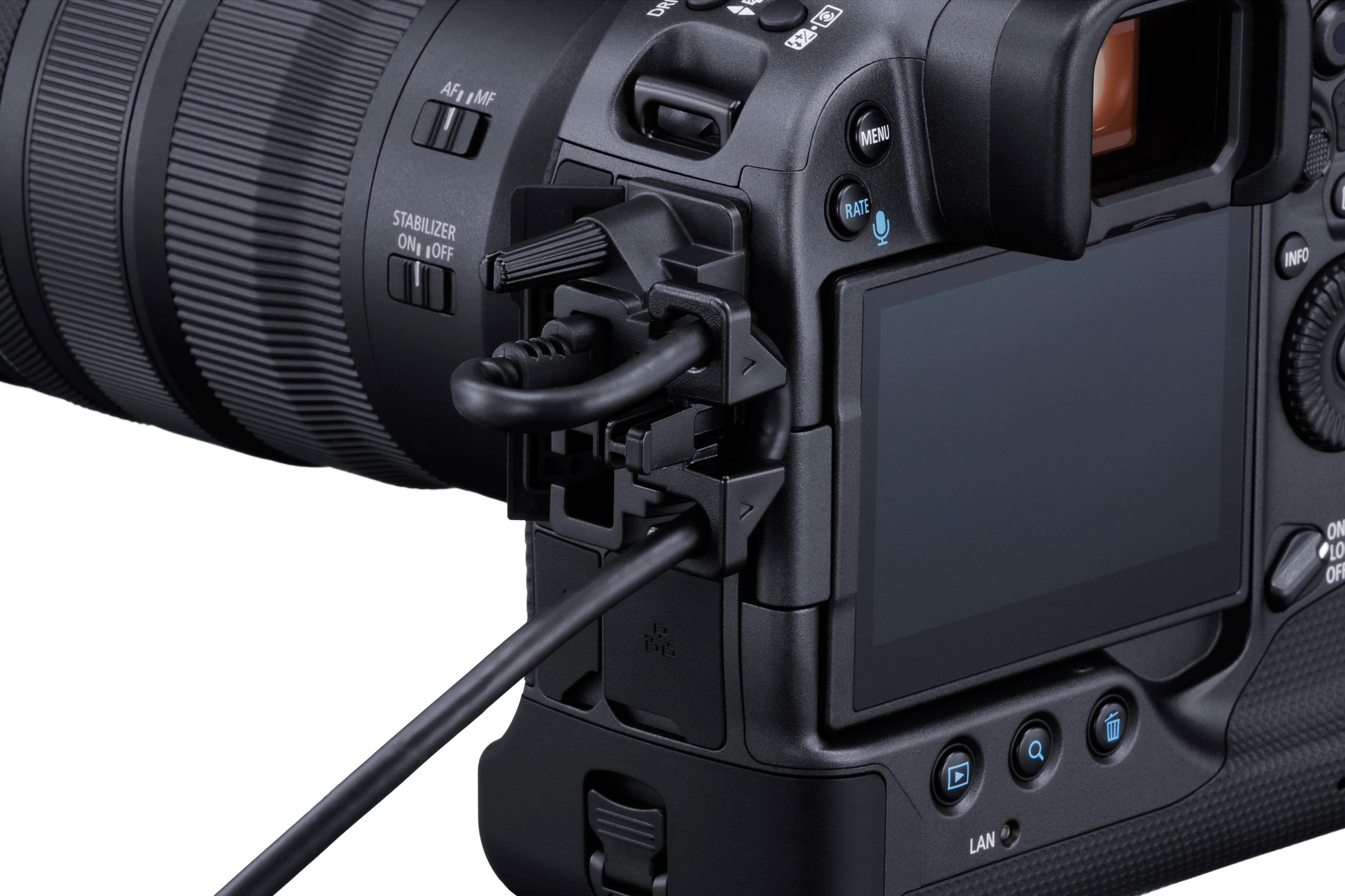Canon EOS R3 Anschlüsse