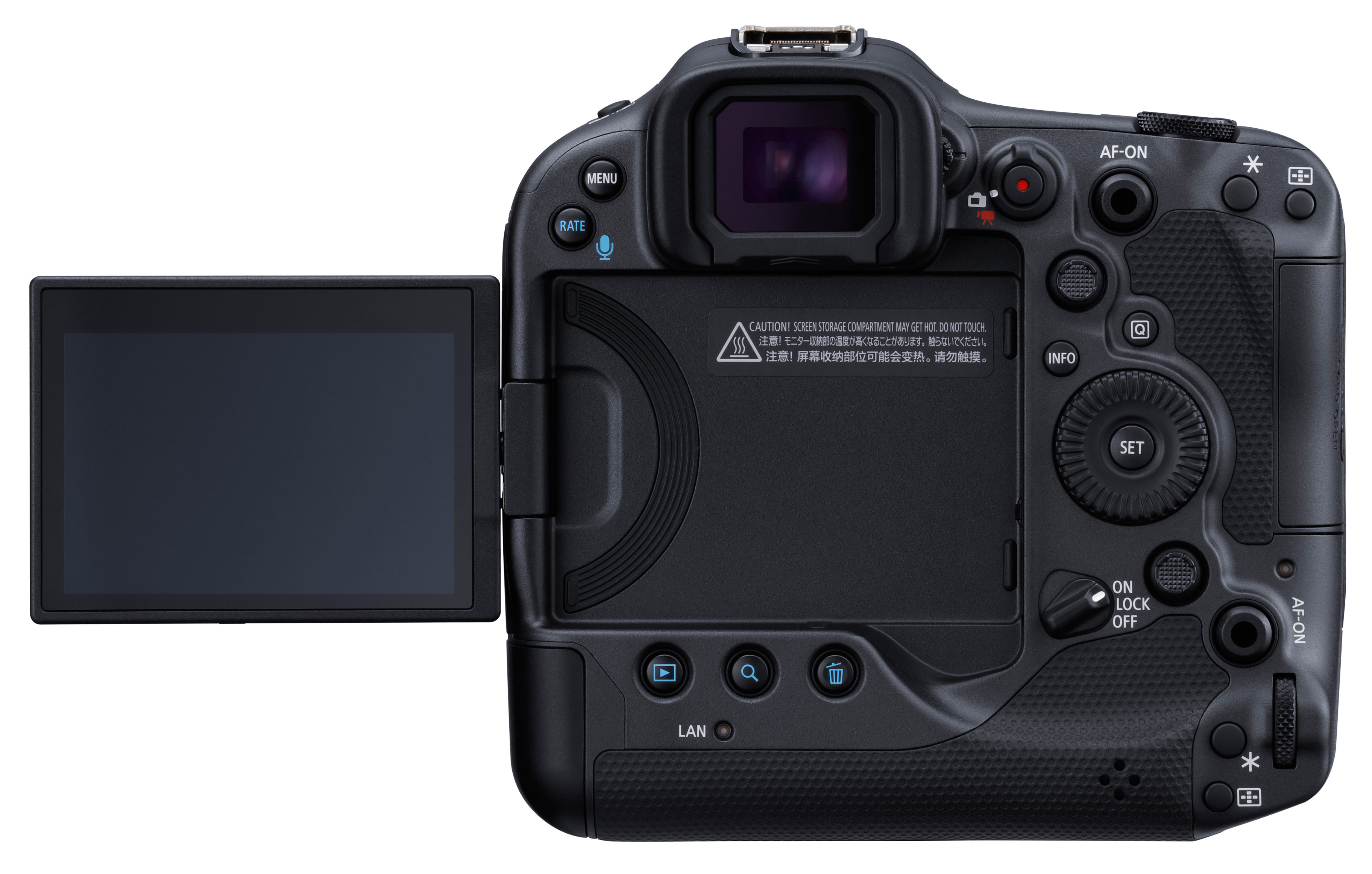 Canon EOS R3 Rückseite