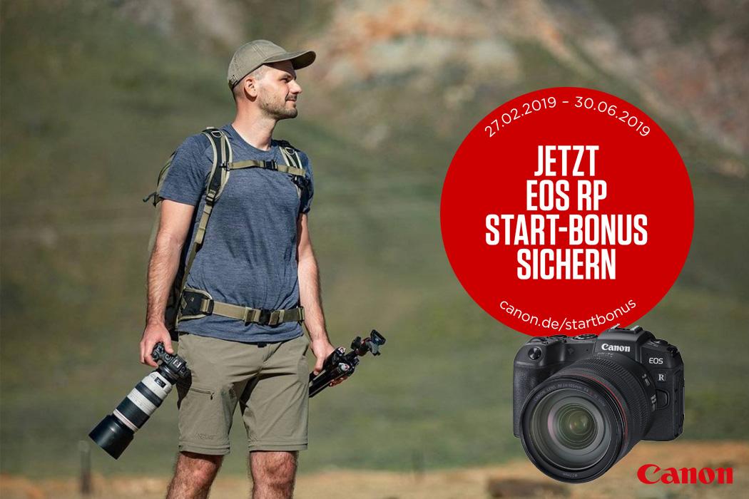 Canon EOS RP Start-Bonus Aktion