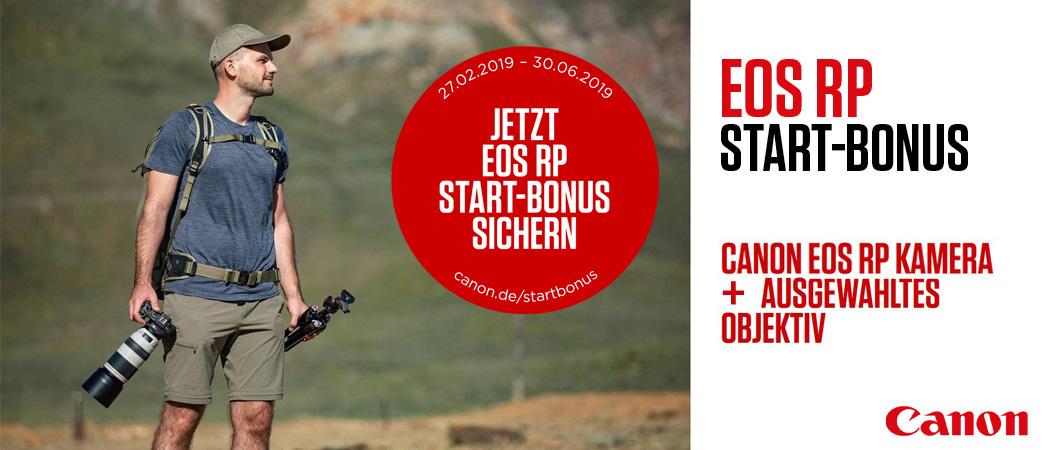 Canon EOS RP Start-Bonus