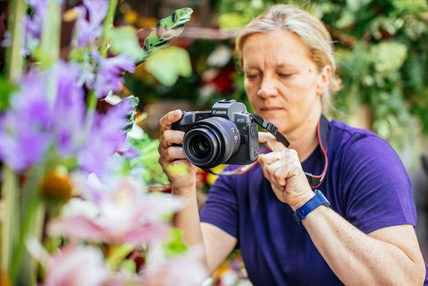 Canon R Neuheit Vollformat-Systemkamera Imagebild