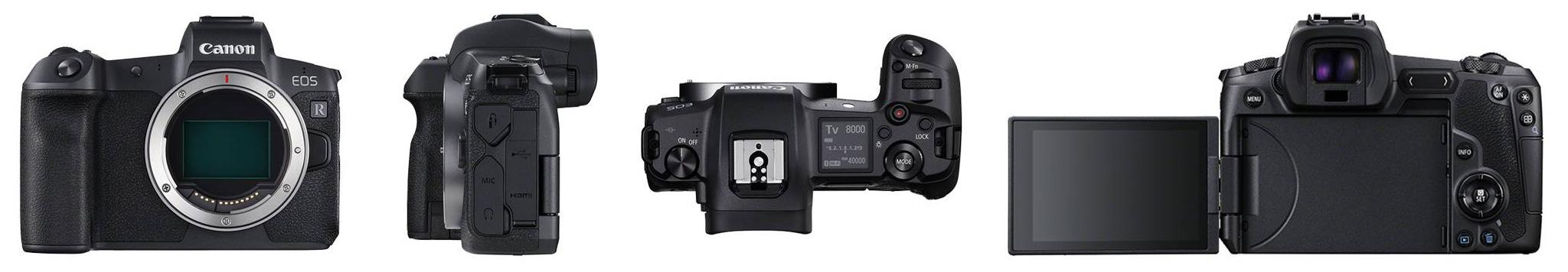 Canon R Neuheit Vollformat-Systemkamera