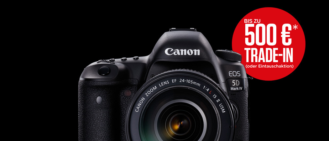 Canon Trade-in Aktion