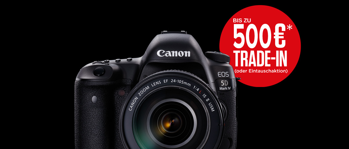 Canon 5D IV Trade-In Aktion