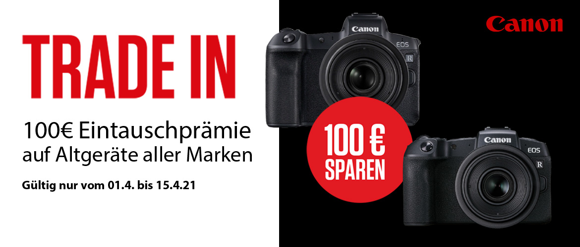 Canon EOS R + RP Trade-in Aktion