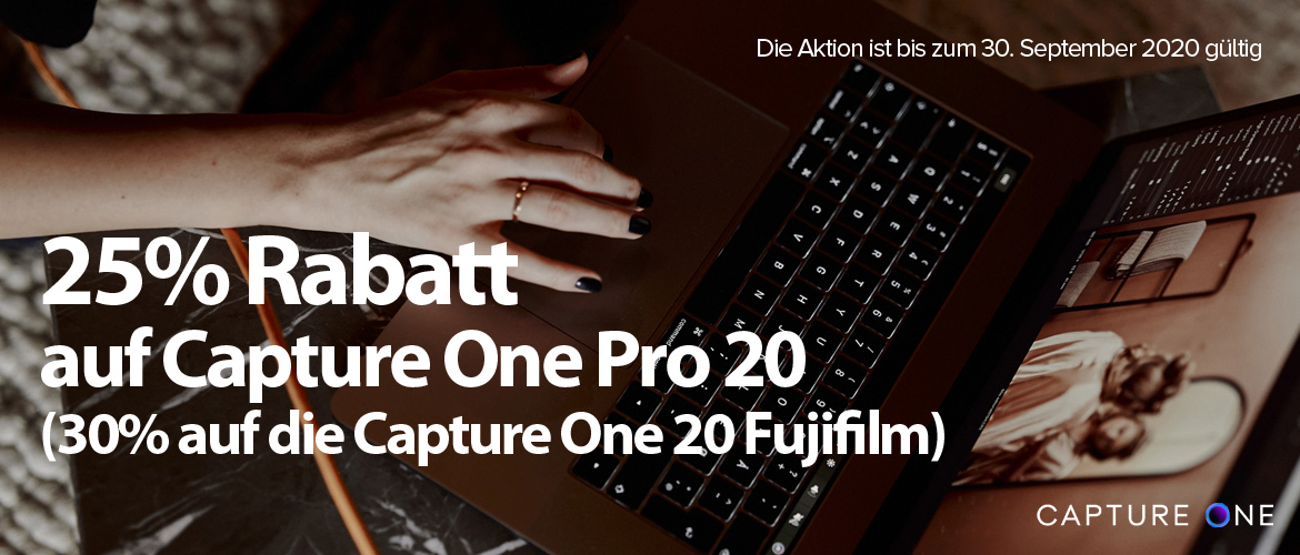 Capture One Aktion