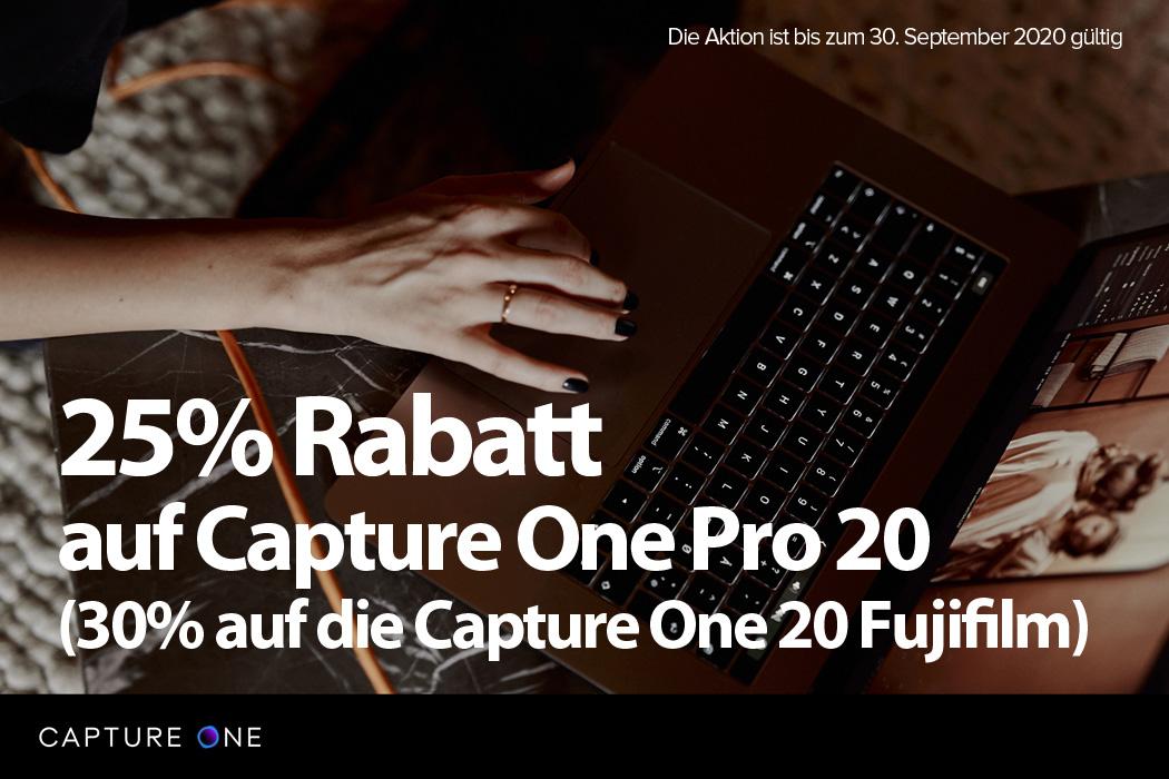 Capture One Aktion