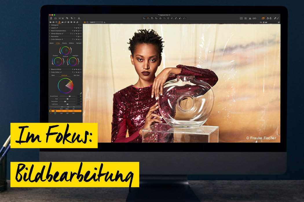 Bildbearbeitungssoftware Capture One 12