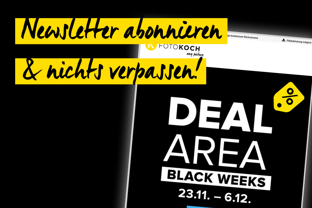 Black Weeks Newsletter abonnieren