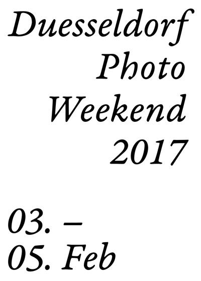 Logo Duesseldorf Photo Weekend