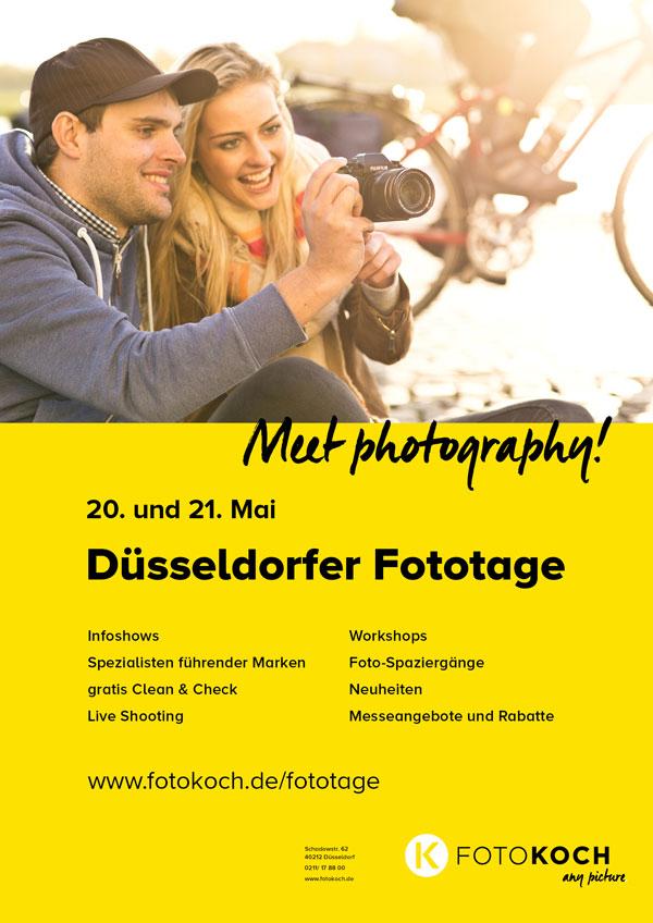 Düsseldorfer Fototage bei Foto Koch