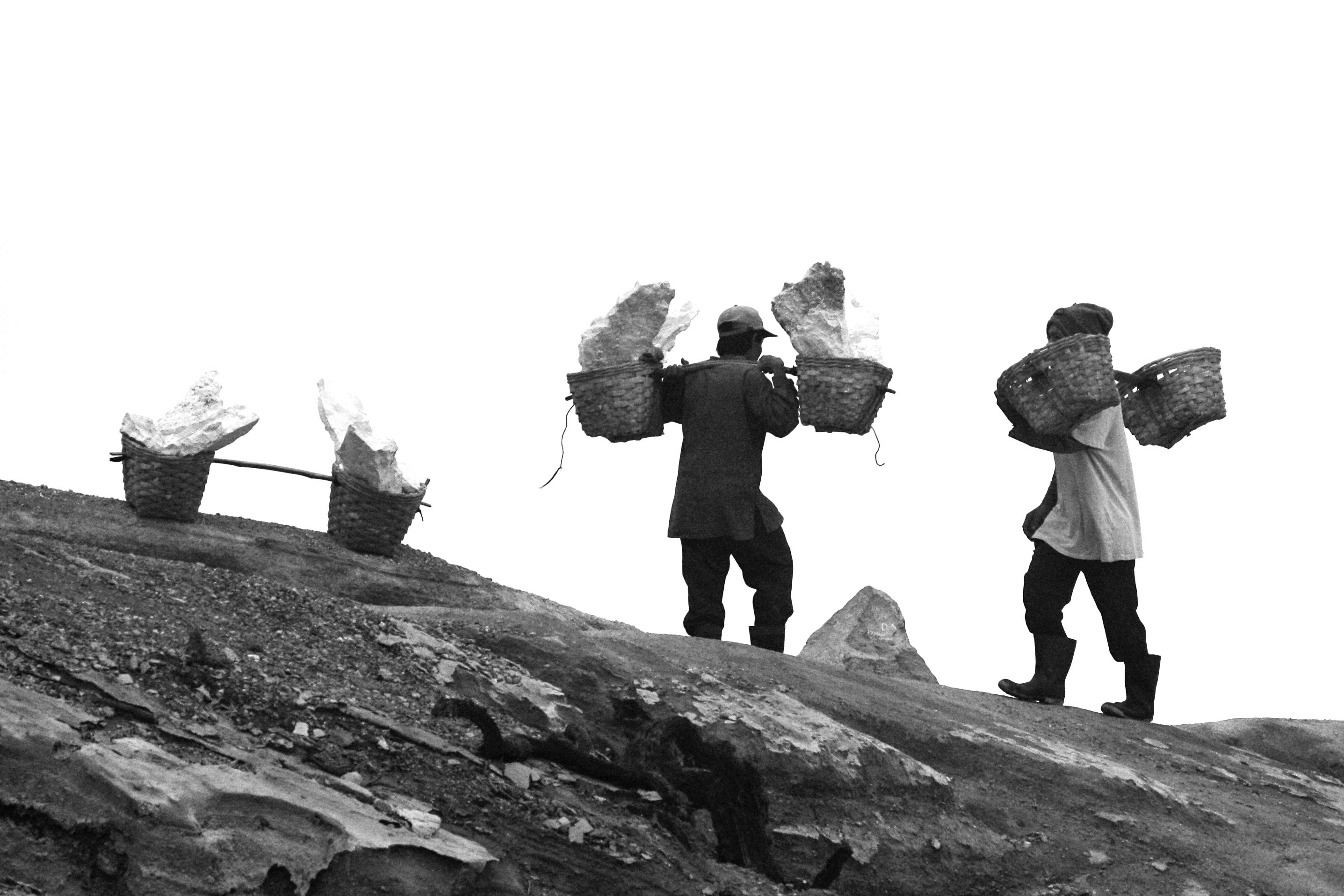 Eine Reise zum Mount Ijen