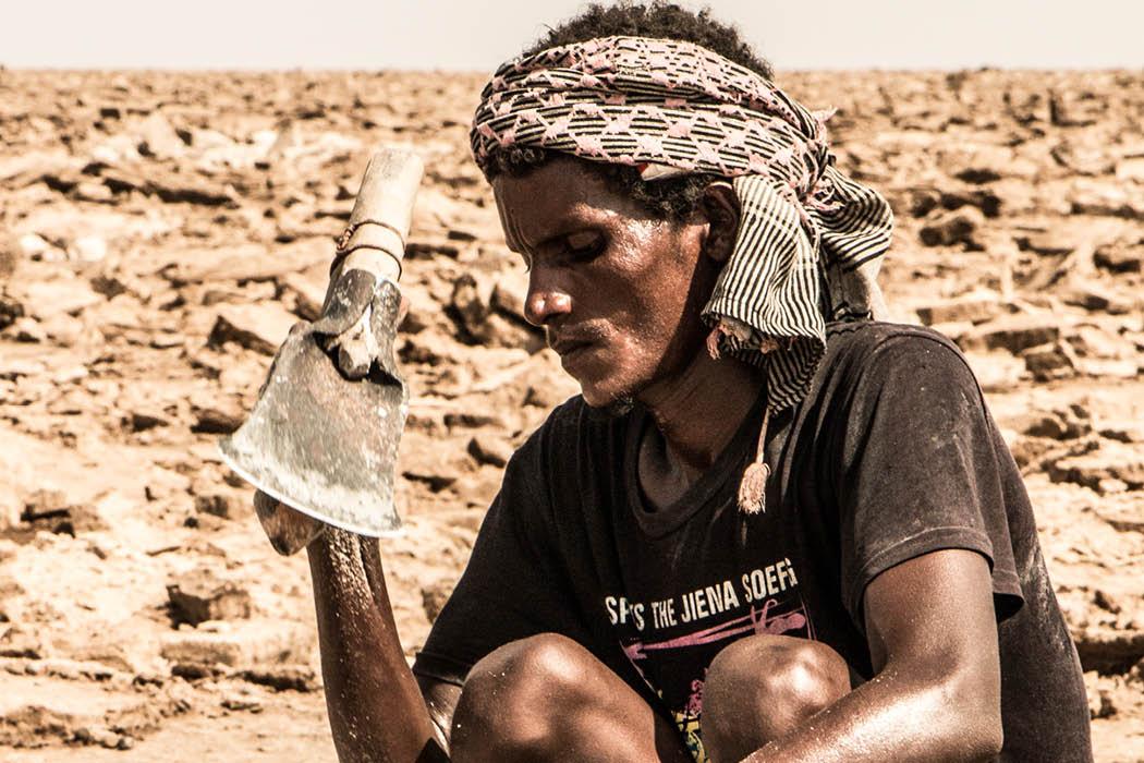 Äthiopien Salzabbau