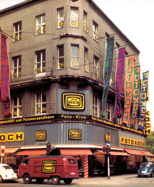 Foto Koch Fassade 1972 - Alleestraße