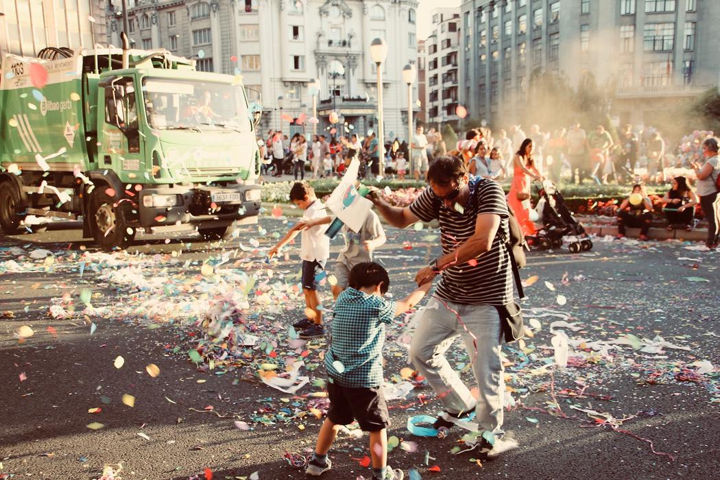 Festwoche in Bilbao