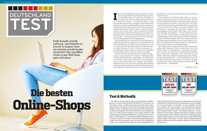 Focus Deutschlandtest Magazin