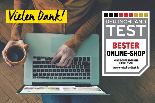 Focus Deutschland-Test Bester Online-Shop