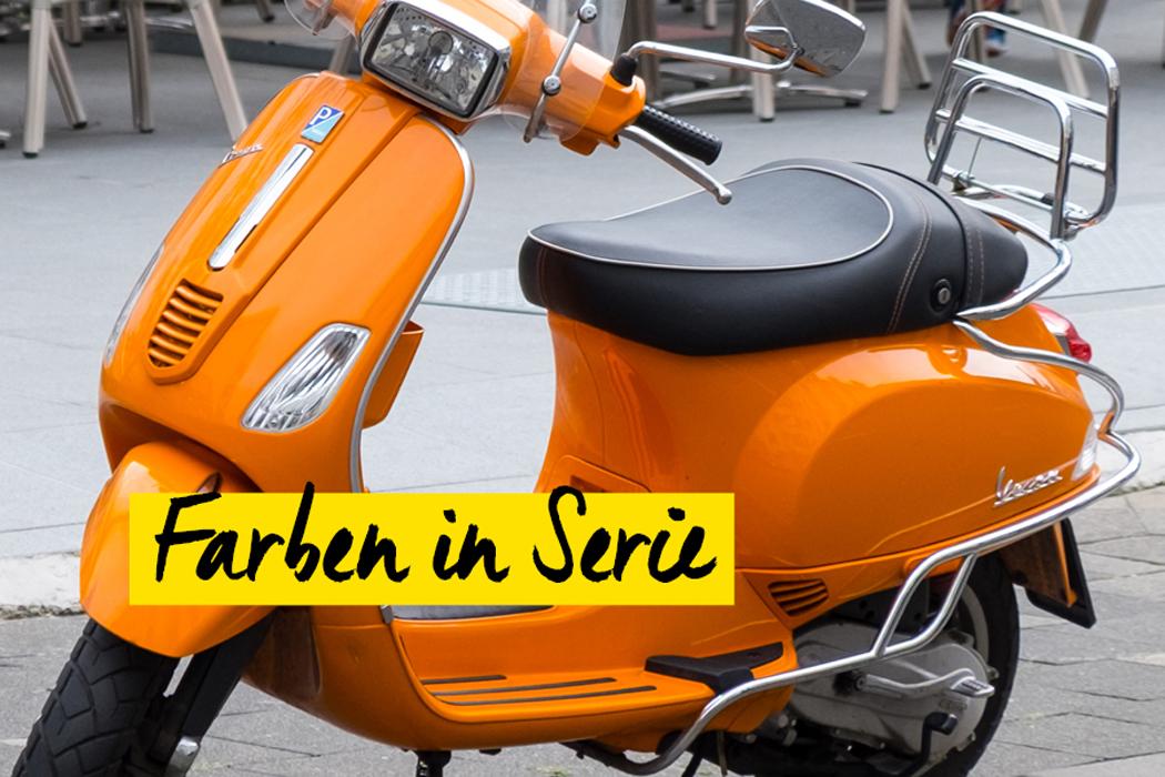 oranger Roller
