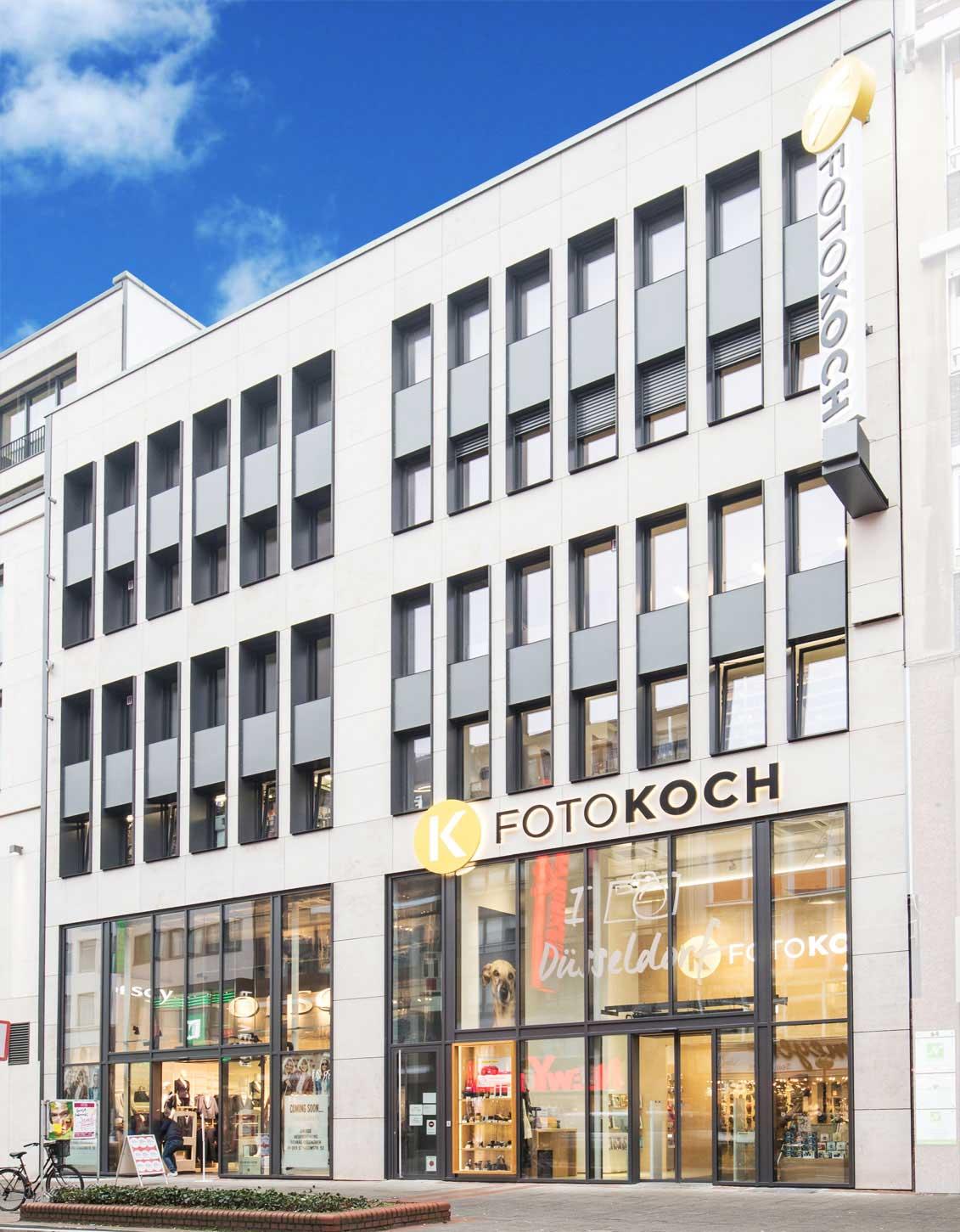 Foto Koch Filiale Düsseldorf außen