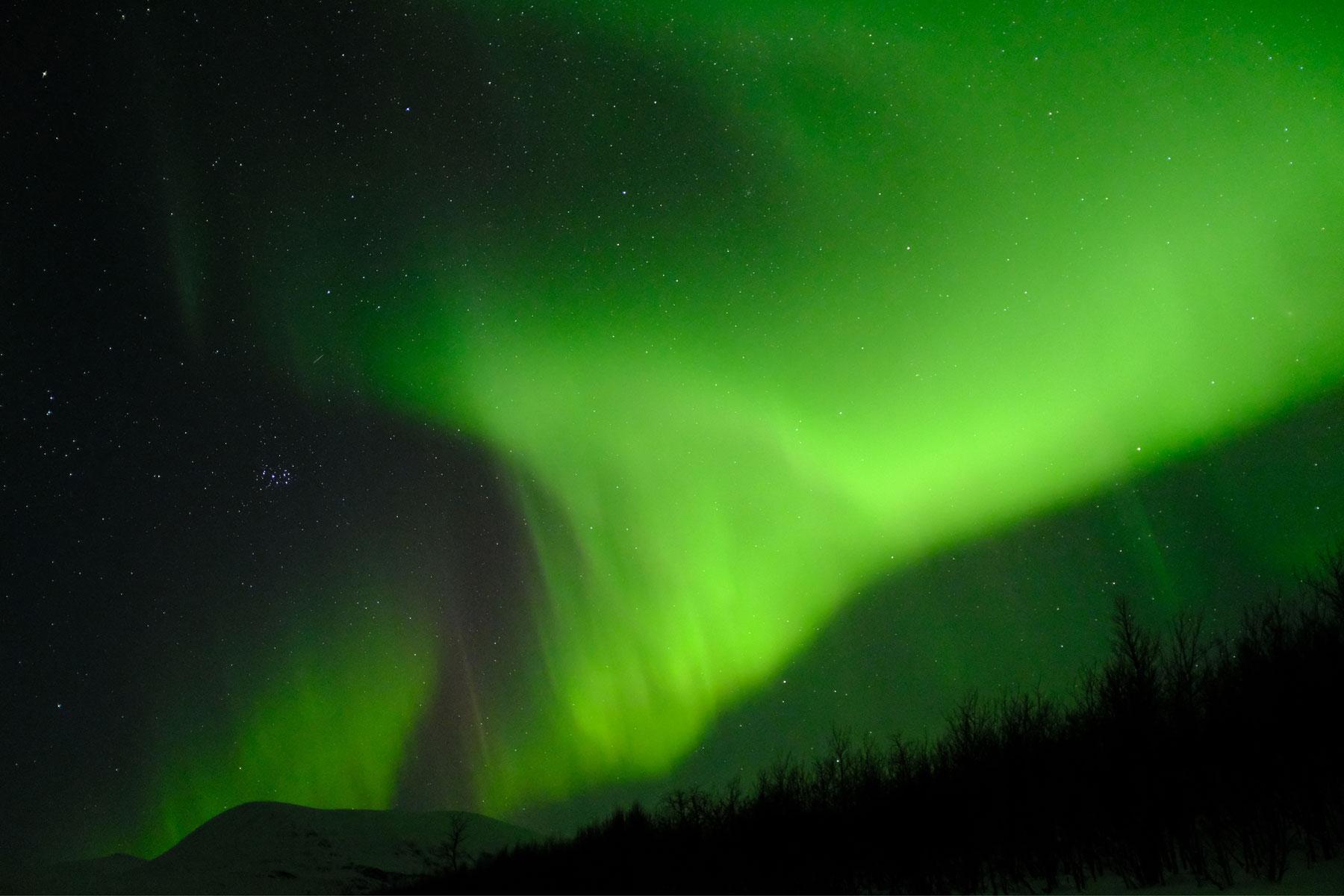 Aurora Borealis - Der Atem des Kosmos