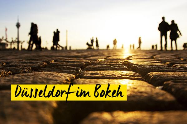 Fotowalk Düsseldorf im Bokeh