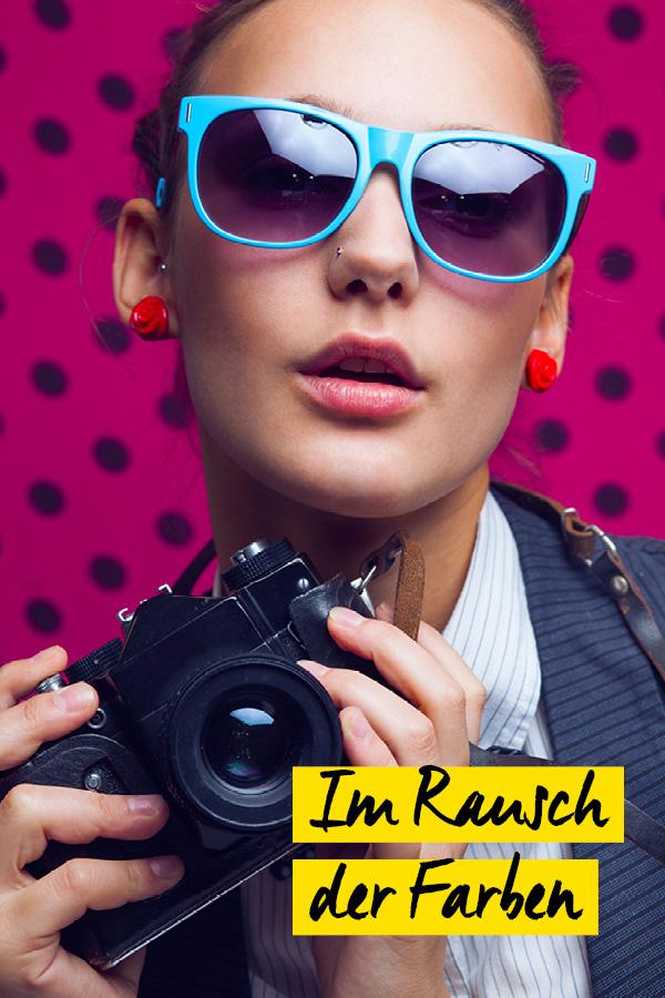 Fotowettbewerb - Pop Up im Rausch der Farben