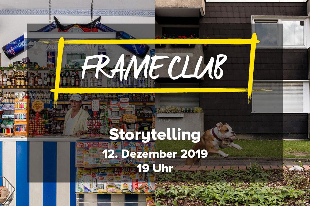 Frame Club Storytelling